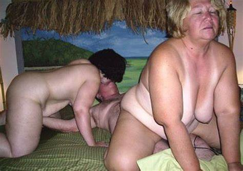 Monster And Unbelievable Grandmother Banging
