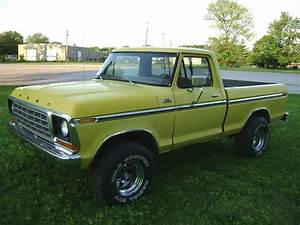 1978 F150 Swb 300 Six Cylinder Ford Yellow