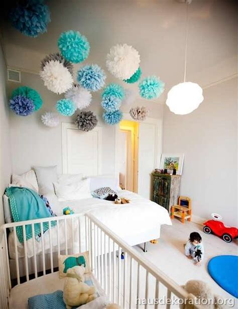 Kinderzimmer Dekoration Decke by 2013 02 Babyzimmer Dekorieren Ideen Decke Pompoms T 252 Rkis