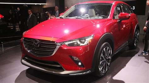 Motor Show 2019 : 2019 Mazda Cx-3 At The 2018 New York Auto Show Photo