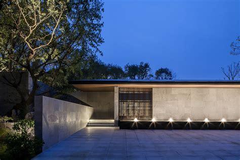 tranquil zen aesthetics     contemporary chinese teahouse