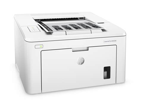 Hp laserjet pro m203dn printer is supports a variety of media types such as plain, brochure or inkjet paper, photo paper, envelopes, labels and transparencies. HP LaserJet Pro M203dn (G3Q46A) | T.S.BOHEMIA
