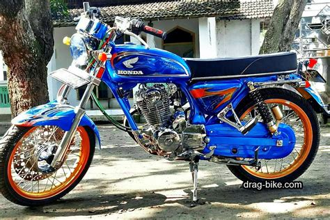 Modif Motor Cb Yang Bagus by 50 Foto Gambar Modifikasi Honda Cb 100 Klasik Style