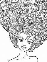 Coloring Adult Crazy Nerdymamma Articulo Dibujos sketch template