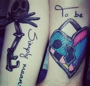 Jack And Sally Matching Tattoos | www.pixshark.com ...
