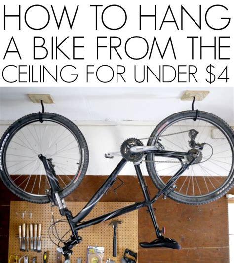 Ceiling Bike Rack Etsy by 25 Best Ideas About Garage Bike Storage On