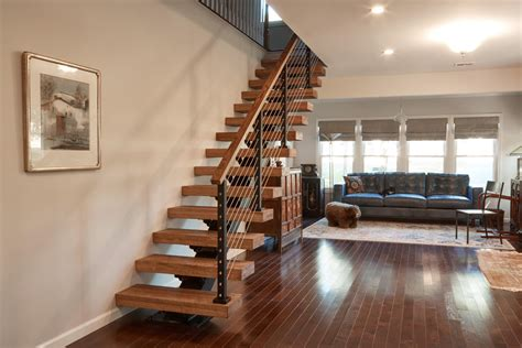floating stair diy install