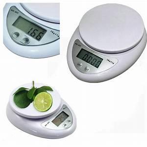 5kg 5000g/1g Digital Kitchen Food Diet Electronic Weight ...