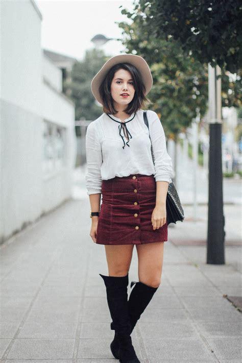Outfits con faldas de botones (9) - Curso de Organizacion del hogar y Decoracion de Interiores