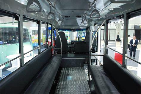 philippine jeepney interior japanese car manufacturer unveils modern jeepney prototype