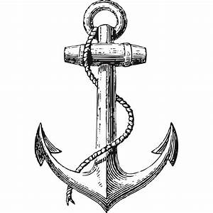 Vintage Anchor Nautical Wall Sticker - World of Wall Stickers