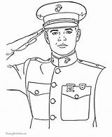 Soldier Coloring Pages sketch template