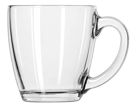 Glass Coffee Cup Mug Clear Set Ware Libbey Tea Water Box