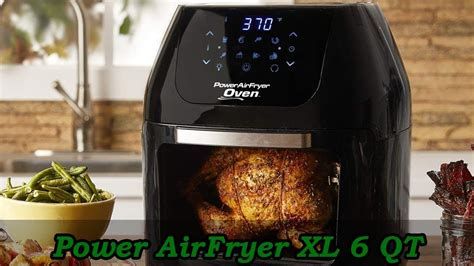 power xl fryer air qt airfryer