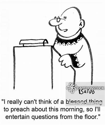 Questions Answering Answers Cartoon Cartoons Funny Priest