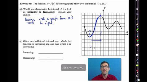common core algebra iunit lesson graphical features