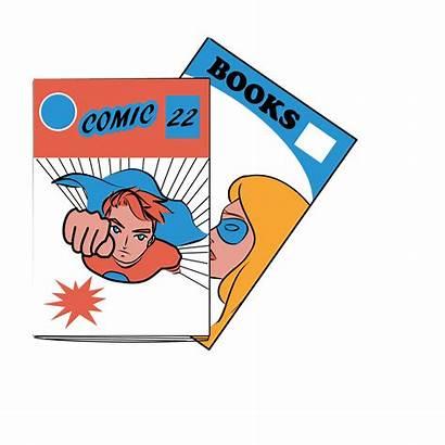 Comic Books Clipart Varsity Cliparts Clip Transparent