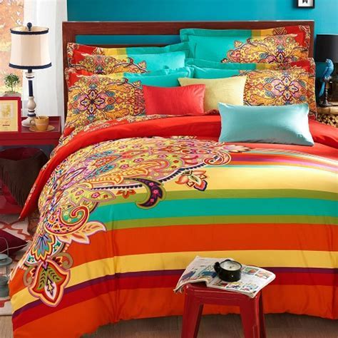 Funky Bright Colored Bedding   Stop Searching for a Minute