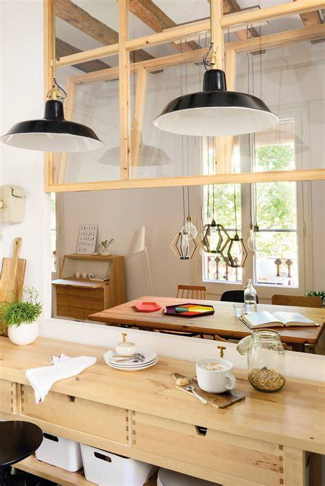 iluminar el office de la cocina