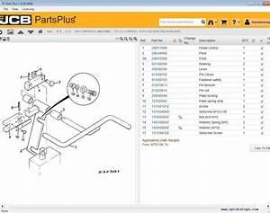 Jcb Partsplus  Parts Catalog V2 00 0004 Service Manual 2017