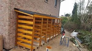 Holzunterstand Selber Bauen : holzunterstand aus paletten bauen swalif ~ Whattoseeinmadrid.com Haus und Dekorationen
