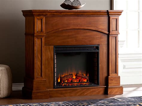 Lantana Wall/corner Electric Fireplace Mantel Package In