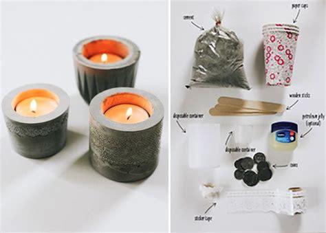 Kerzenhalter Basteln 15 Inspirationsideen Fuer Coole Kerzenhalter by Basteln Mit Beton Kreative Ideen Zum Selber Machen