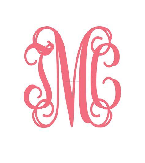 svg fonts interlocking vine monogram svg font  monogram fonts cricut monogram