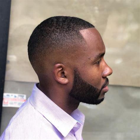 trendy bald fade haircuts  men