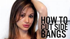 How To Cut Side Bangs In Less Than 1 Minute  Diy