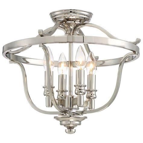 minka lavery lighting minka lavery audreys point 4 light polished nickel semi