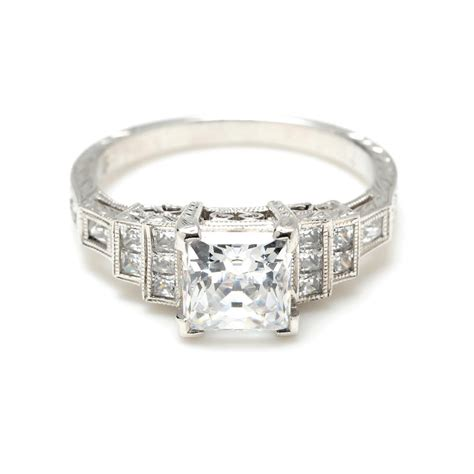 deco wedding ring art deco engagement rings a bewitching piece of stunning