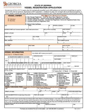 Dnr Boat Registration by Fillable I Pm6 Fax Email Print Pdffiller