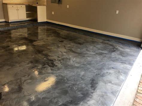 Garage Floor Paint Houston by Metallic Epoxy Garage Floor Coatings Houston Epoxy