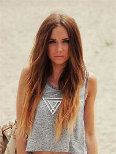 chocolate brown hair with blonde tips - Blonde and Brown