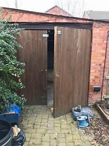 6ft Garage Wooden Doors