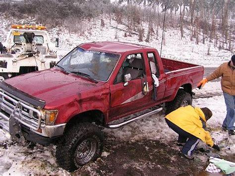 wrecked  truck yotatech forums