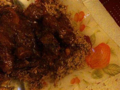 cuisines senegalaises thiéré bassi salté couscous de mil senecuisine