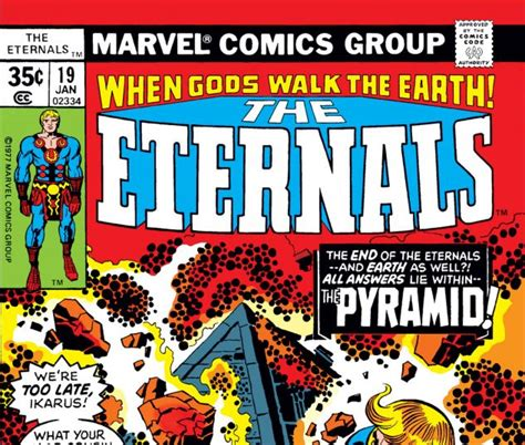 Eternals (1976) #19 | Comic Issues | Marvel