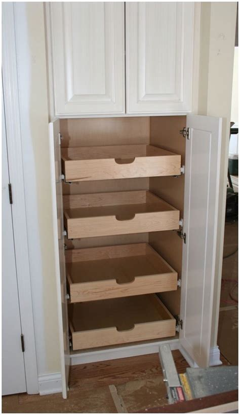 Kitchen Pantry Organizers Wood Pantry Storage Ideas