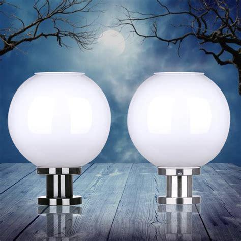 solar globe lights outdoor popular solar pillar buy cheap solar pillar lots from