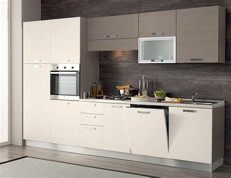 Cucina Completa 330 Cm Completa Di Lavastoviglie Colonna