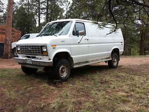 Sell New 4x4 Ford Van 1987 In Divide  Colorado  United States  For Us  2 000 00