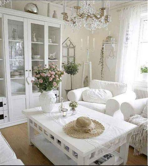 63 best shabby chic living room decor ideas