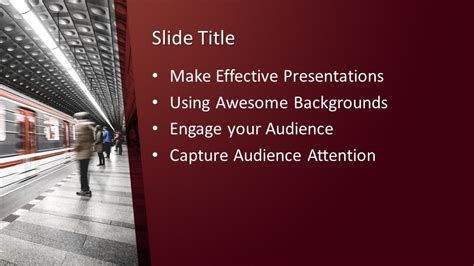 subway powerpoint template  powerpoint templates