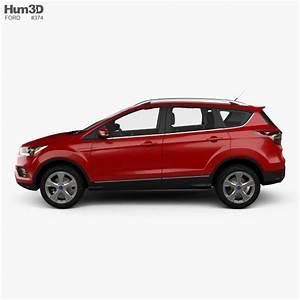 Ford Kuga Neues Modell 2017 : ford kuga titanium with hq interior 2017 3d model hum3d ~ Kayakingforconservation.com Haus und Dekorationen