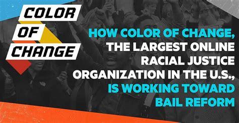 color  change  largest  racial justice
