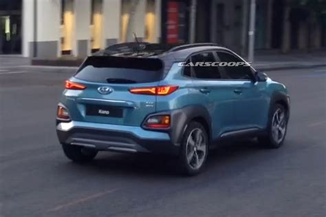 Hyundai Photo by Exclusive New 2018 Hyundai Kona Captured Completely