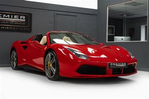 We have 2 ferrari roma cars available from trade and private sellers. £240995 2018 FERRARI 488 SPIDER V8 For Sale on Prestige Motor Warehouse