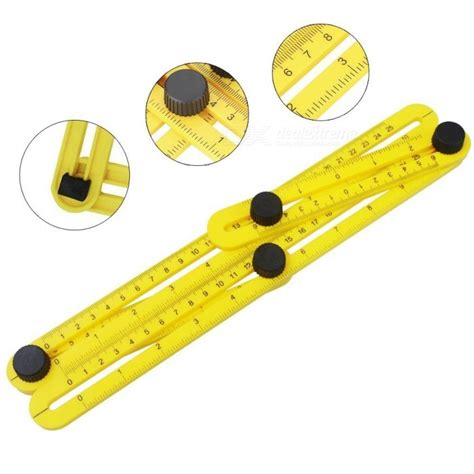 angle template tool blcr angleizer template tool multi angle measuring ruler free shipping dealextreme